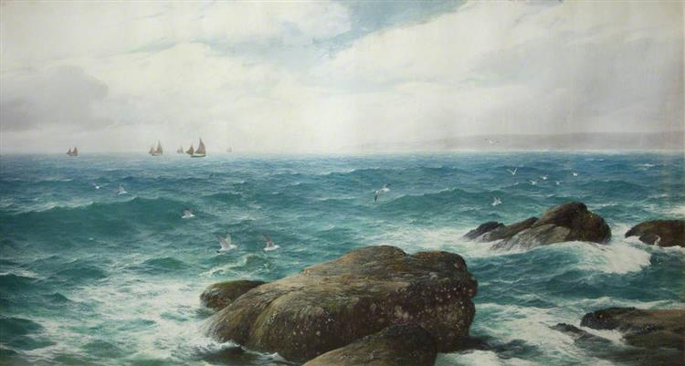 A Cornish Bay, c.1890 - David James