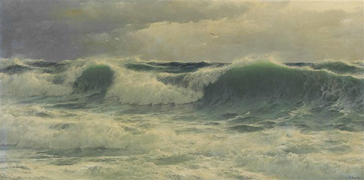 A Ground Sea, 1895 - David James