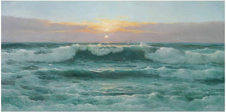 Evening Tide, 1899 - David James
