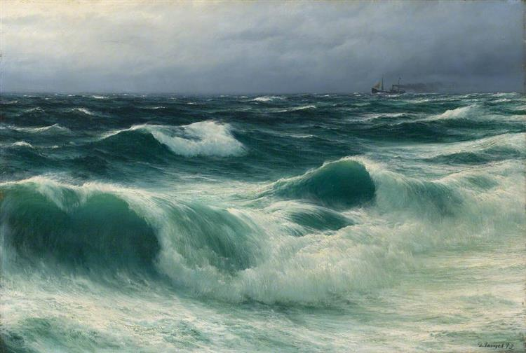Seascape, Storm Breakers, 1892 - David James