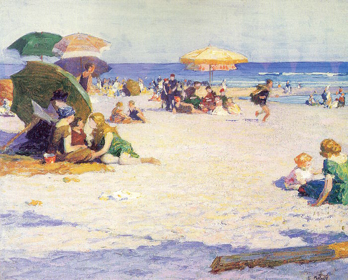 Long Beach, 1921 - Edward Henry Potthast