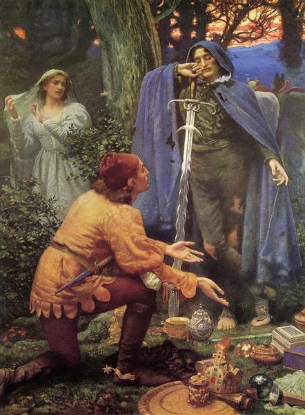 Bertuccio's Bride - Edward Robert Hughes