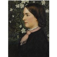 Mrs Cecelia Bowen-Summers, 1874 - Edward Robert Hughes
