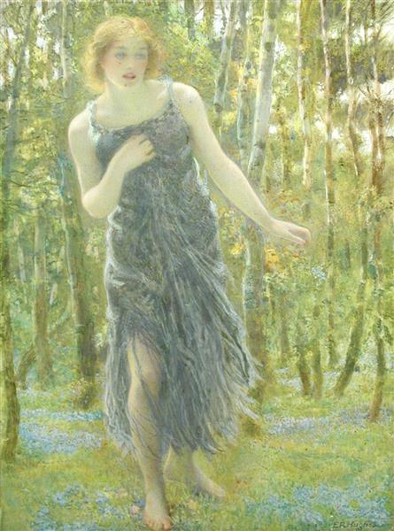 The Nymph Callisto, 1899 - Edward Robert Hughes