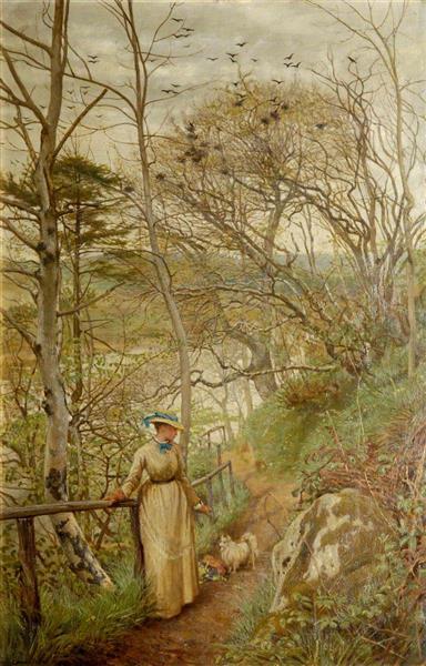 On Deeside, 1874 - Frederick George Cotman