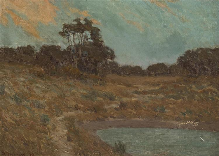 The Old Pond - Granville Redmond