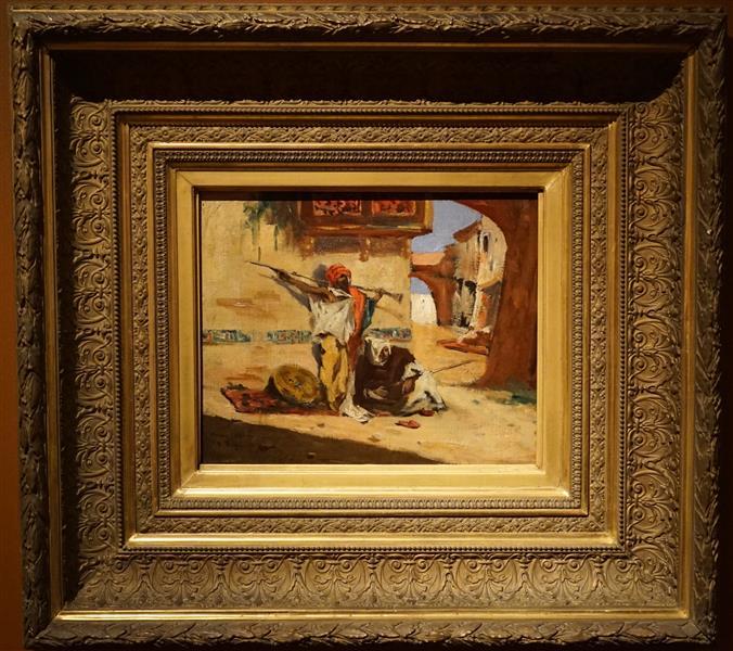 Sentinelle Marocaine - Henri Regnault