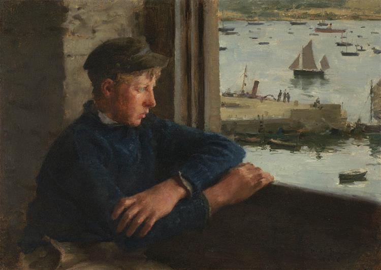 The Look out - Henry Scott Tuke