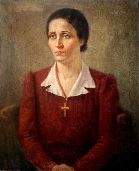 Portrait of a woman - Ivan Mrkvička