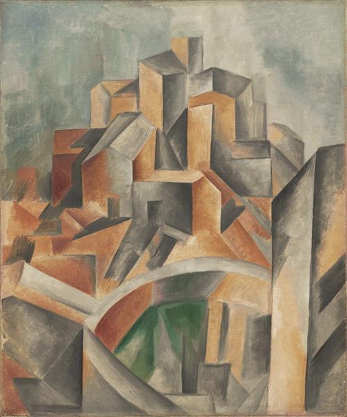 The Reservoir, Horta de Ebro, 1909 - Pablo Picasso
