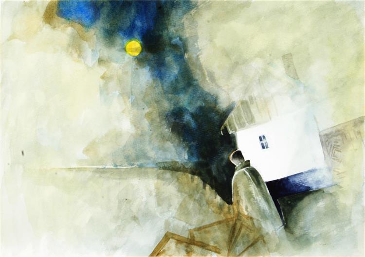 Lonely House in Moonlight, 1995 - TAMÁS, Ervin