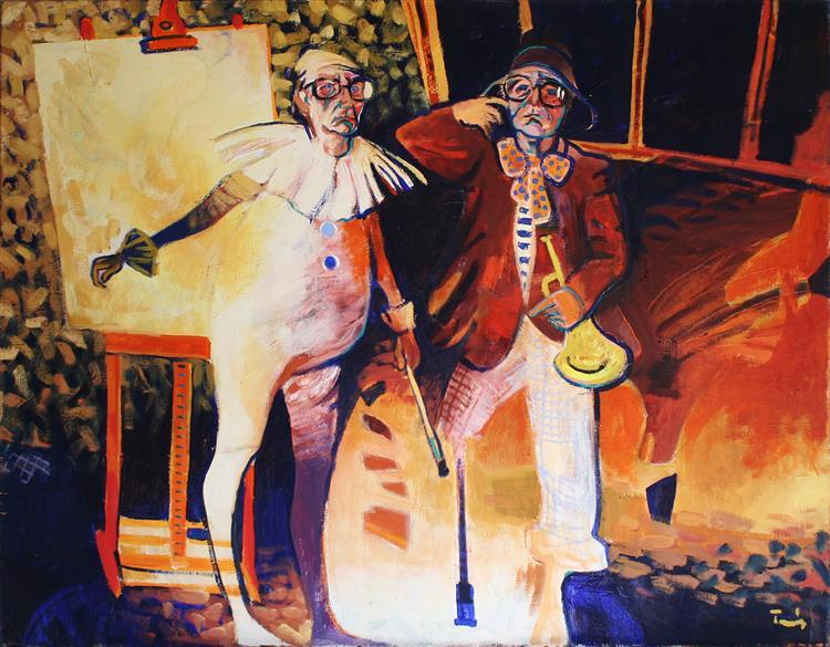 Clowns, 1976 - Ervin Tamas