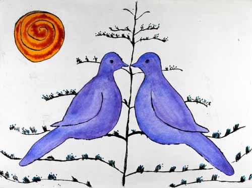 Summer Lovebirds, 2012 - Richard Spare