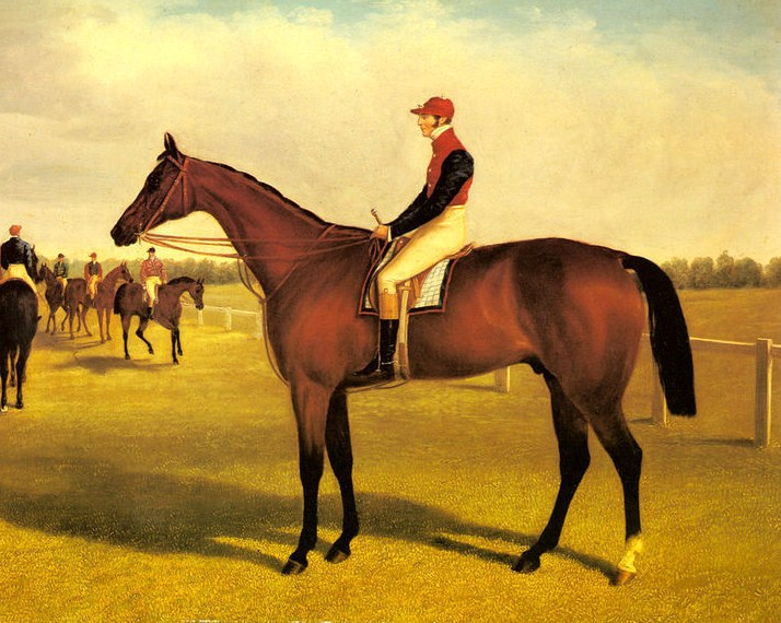 Don John, the Winner of the 1838 St. Leger with William Scott Up, 1838 - John Frederick Herring Sr.