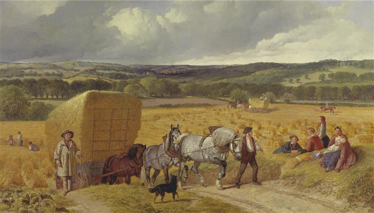 Harvest, 1857 - John Frederick Herring Sr.