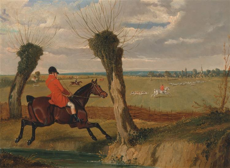 The Suffolk Hunt- Full Cry, 1833 - John Frederick Herring Sr.