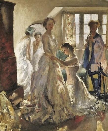 Matinee Rehearsal, c.1900 - Henry Tonks