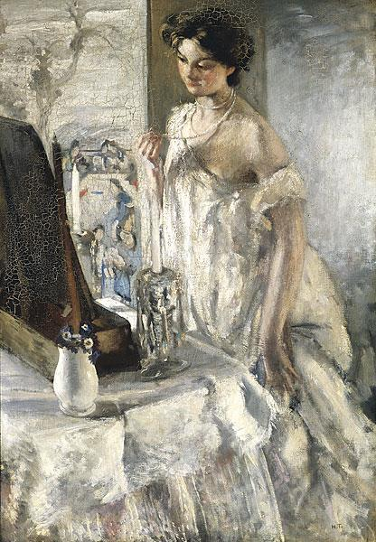 The Pearl Necklace - Henry Tonks