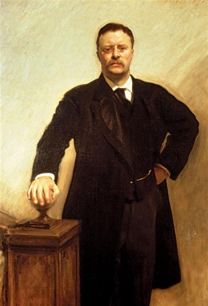 Theodore Roosevelt Portrait, 1903 - John Singer Sargent