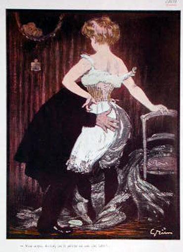 Lady Underwear, 1900 - Jules-Alexandre Grun