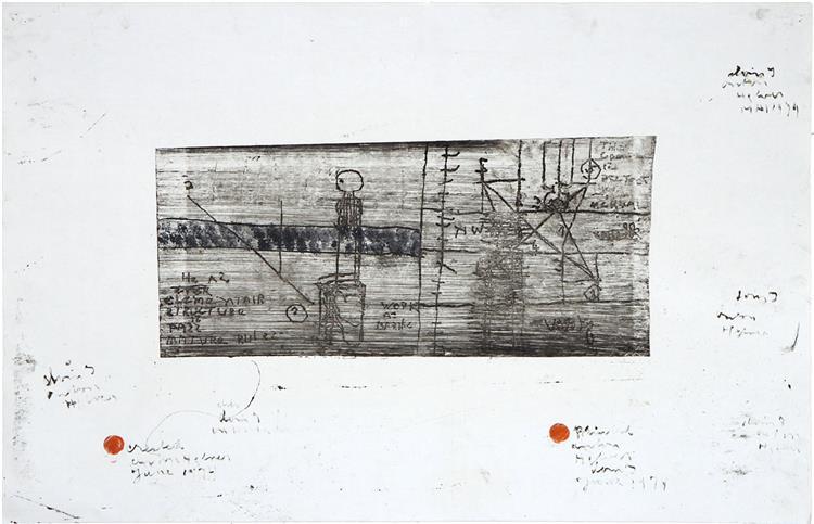 Elementair Structure, 1974 - Anton Heyboer