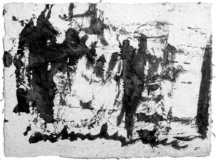 Thai Papier, 1987 - Anton Heyboer