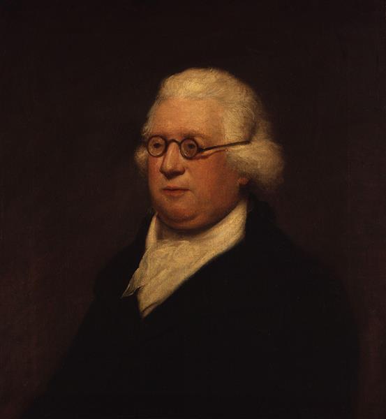 Portrait of James Hook - Lemuel Francis Abbott