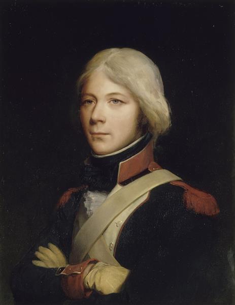 Joseph Maison, Grenadier au 1er Bataillon de Paris en 1792 - Léon Cogniet