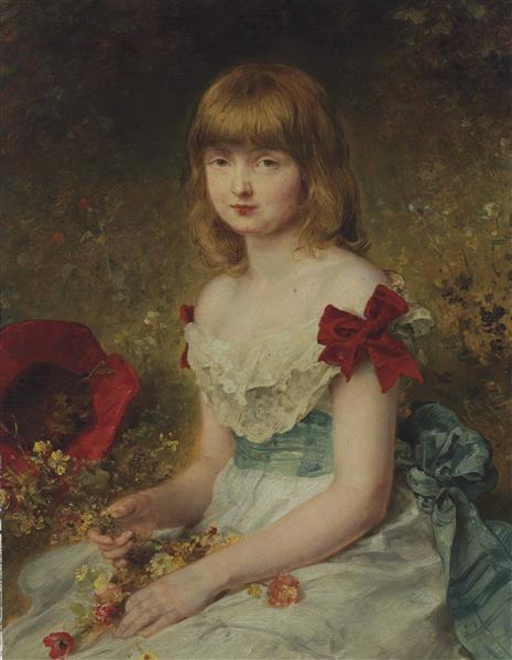 Spring, 1887 - Ludwig Knaus