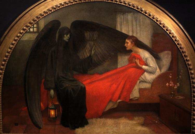 Death and the Maiden - Marianne Stokes
