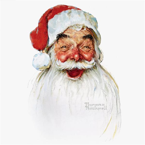 Santa Claus - Norman Rockwell
