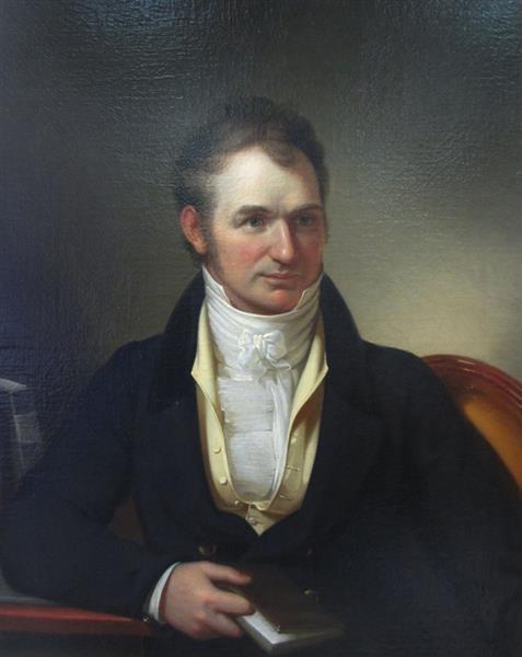 Portrait of Horace H. Hayden, 1828 - Rembrandt Peale