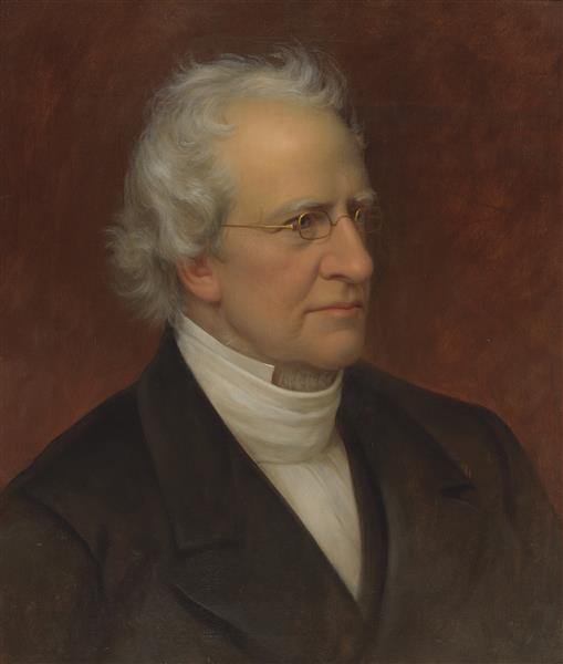 Portrait of the Cleric Charles Hodge - Rembrandt Peale