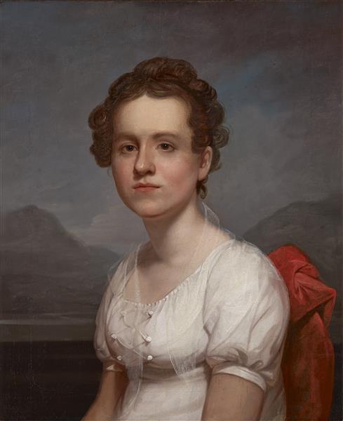Portrait of Helen Miller (mrs. Charles G. Mclean) - Rembrandt Peale