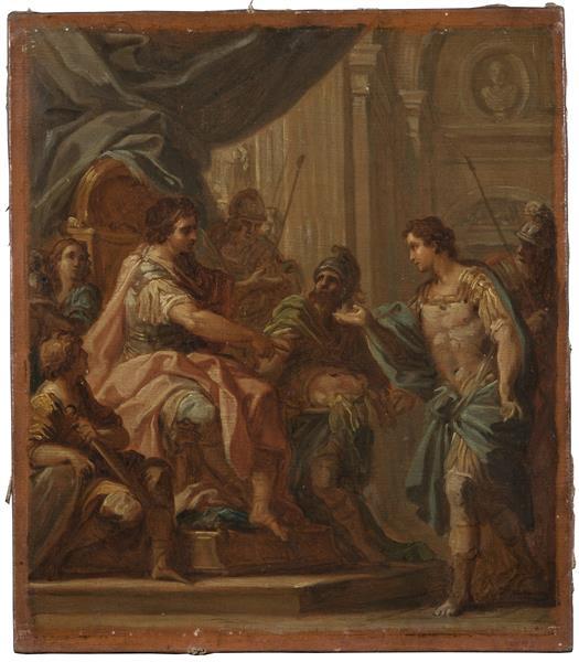 David Och Saul, c.1733 - Sebastiano Conca