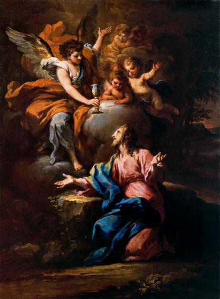 Cristo En El Jardín De Getsemaní - Себастьяно Конка