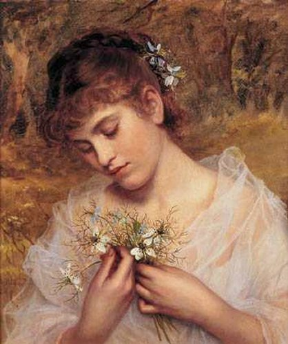 Love in a Mist - Sophie Gengembre Anderson