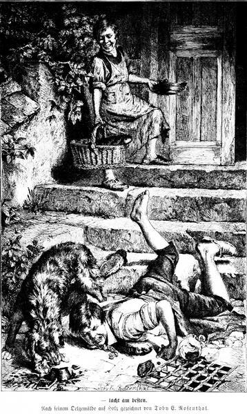 Die Gartenlaube, 1876 - Toby Edward Rosenthal