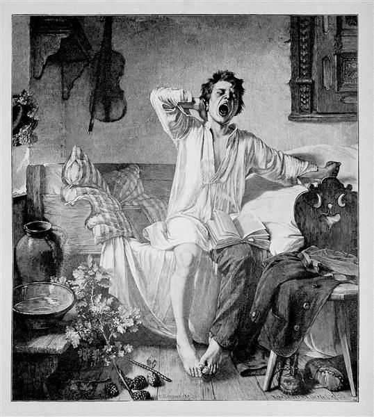 Die Gartenlaube (the Garden Arbor), 1889 - Toby Edward Rosenthal