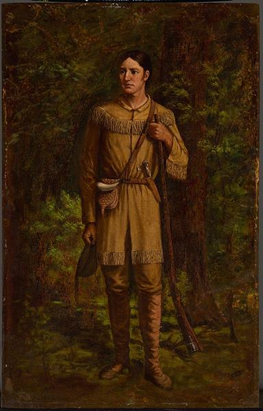 Davy Crockett, 1889 - William Henry Huddle