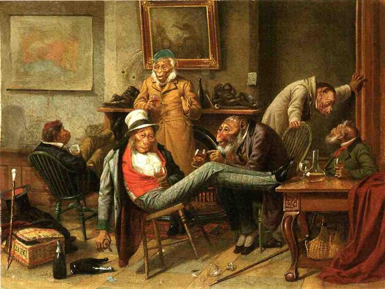 Pre Adamite, 1874 - Вільям Голбрук Бірд