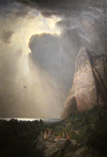 The Lost Balloon - William Holbrook Beard