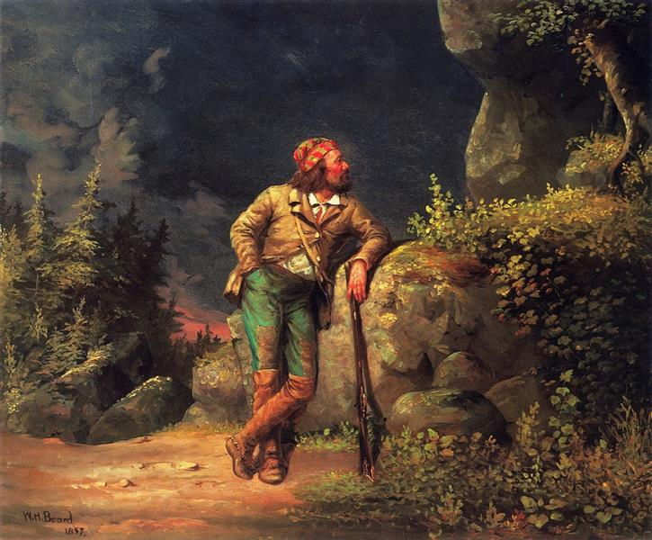 The Trapper, 1857 - William Holbrook Beard