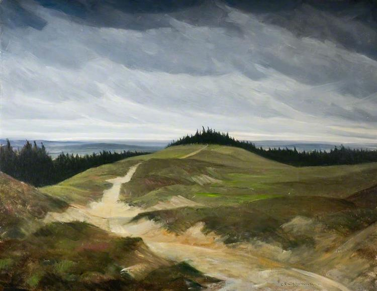 Sandy Path, c.1919 - C. R. W. Nevinson