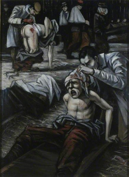 The Doctor, 1916 - C. R. W. Nevinson