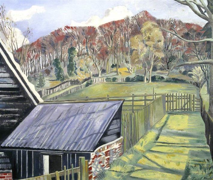 Behind the Inn, 1919 - 1922 - Paul Nash