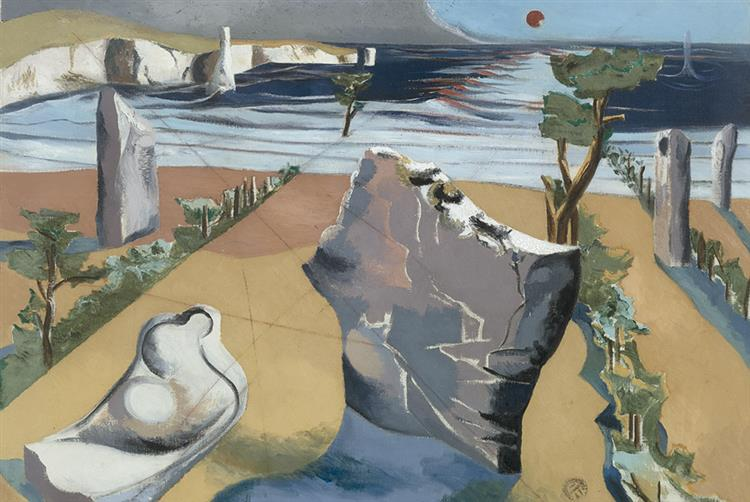 Circle of the Monoliths, 1937 - 1938 - Paul Nash