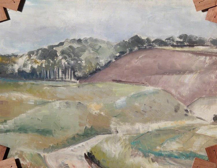 Landscape (verso), 1939 - Paul Nash
