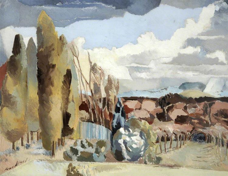 March Landscape, 1944 - Paul Nash