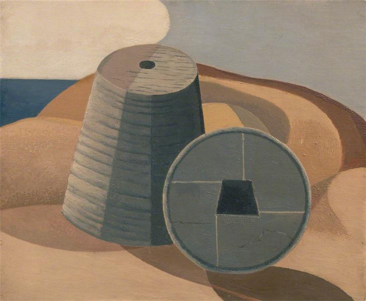 Mineral Objects, 1935 - Paul Nash